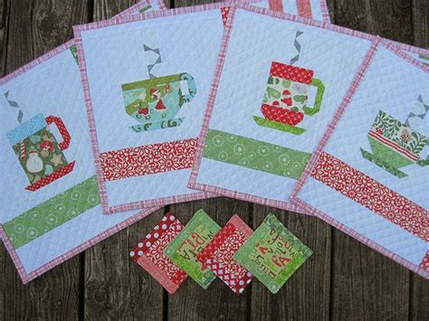 quilt pattern little zz 25 best ideas about christmas placemats on pinterest
