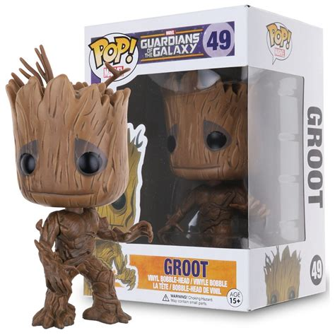 Funko Pop Groot Guardians Of The Galaxy funko pop marvel guardians of the galaxy groot vinyl figure funko toys gift ebay