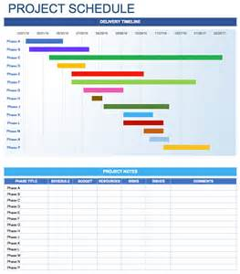 excel project schedule template free free daily schedule templates for excel smartsheet