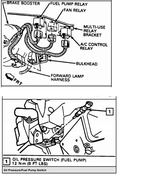 94 camaro fuel pump relay location wiring diagram website
