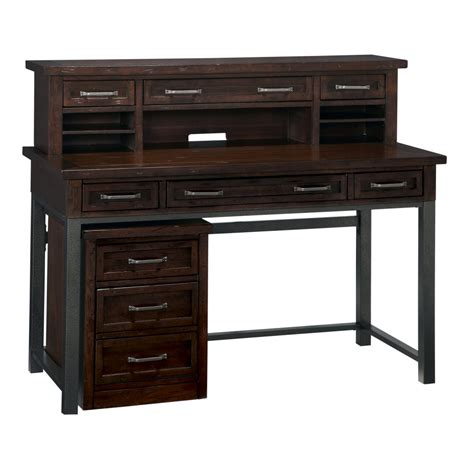 cabin creek executive desk hutch mobile file homestyles