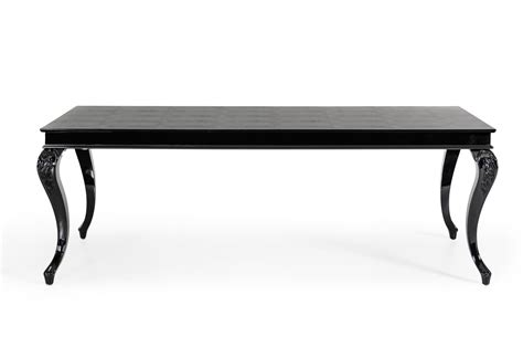 Dining Table Black Legs A X Sovereign Transitional Black Crocodile Dining Table W Black Gloss Legs Modern Dining Dining