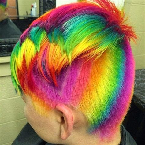 i dyed my hair brown men changing clothing styles 20 rainbow hair pictures to join the unicorn tribe