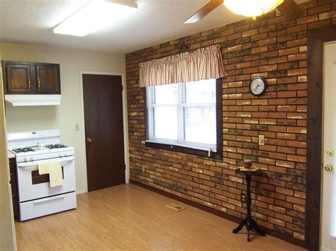 Fake Exposed Brick Wall Interior Brick Wall Ideas Gallery