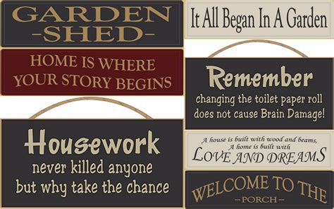 Garden State Home Quote Wood Signs Sayings Home And Garden Wood Signs