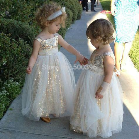 Flower Dresses For Weddings by Sparking Floor Length Flower Dresses For Weddings And