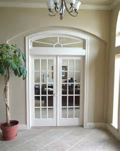 Arched French Doors Exterior - interior openings