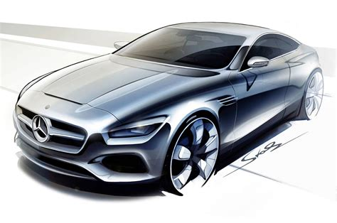future mercedes s mercedes benz s class coupe concept teased before