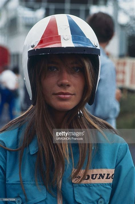 Francoise Hardy Playing In The Film Grand Prix Dans Son