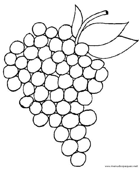 imagenes uvas para pintar uvas para colorear