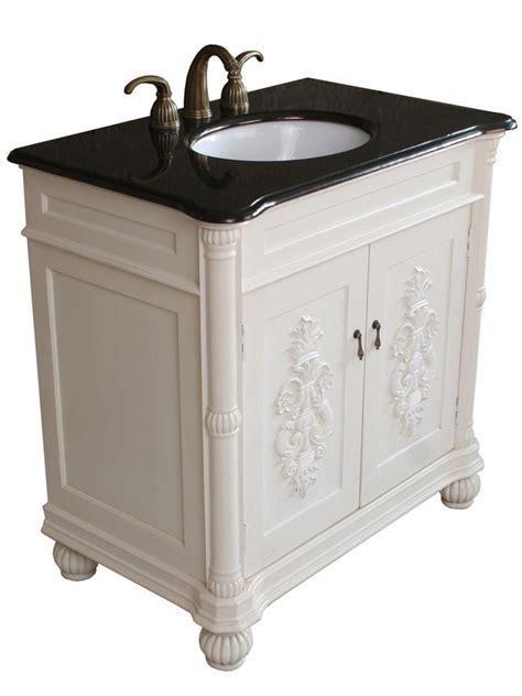 36 antique white bathroom vanity 36 quot rutland single bath vanity antique white bathgems com