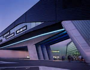 well known architects bmw central building in leipzig germany by zaha hadid