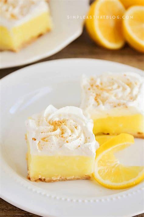 15 easy and tasty lemon dessert recipes style motivation