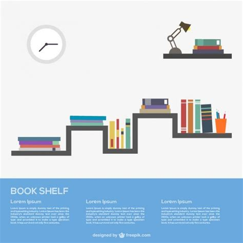 estantes para libros gratis libros en el estante descargar vectores gratis