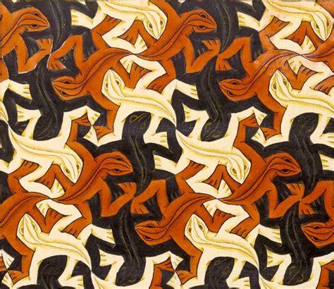 m pattern in c mc escher lizard pattern escher pinterest mc escher