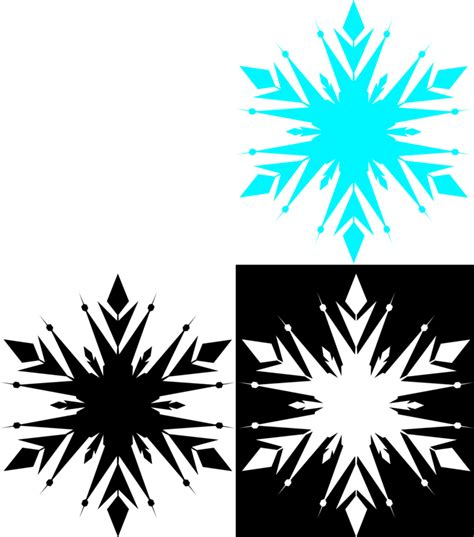 frozen snowflake coloring page frozen snowflake free by akili amethyst on deviantart