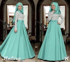 Gamis Pesta Ersya Maxi By Naeli Syari Setelan Muslim Dres Hij ryn fashion belanja puas harga pas
