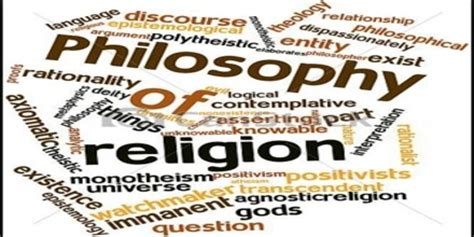 philosophy of religion for philosophy of religion assignment point