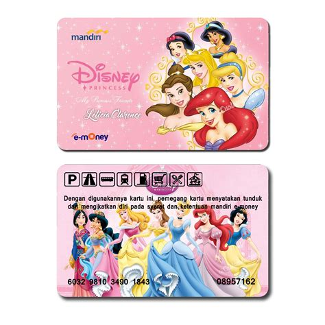 Kartu Emoney by Kartu Emoney E Money Mandiri Etoll E Toll Disney Princess