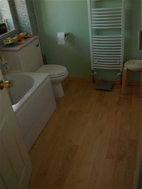 flooring for bathrooms recommendations caber floors client feedback from hardwood floor jobs