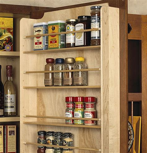 Door Mounted Spice Rack Jeri S Organizing Decluttering News July 2013
