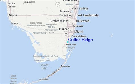cutler bay florida map cutler ridge tide station location guide