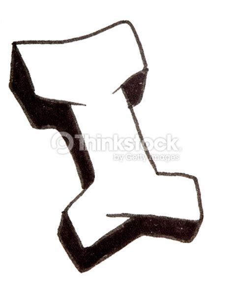 lettere stile murales mi lettera alfabeto in stile graffiti foto stock thinkstock