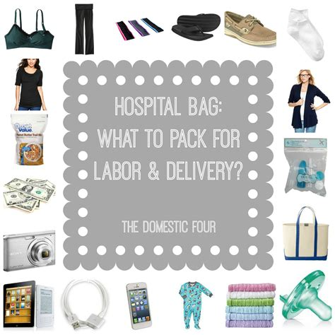 What To Pack In Hospital Bag For C Section by Hospital Bag What To Pack For Labor Delivery The