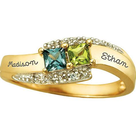 keepsake personalized promise ring walmart