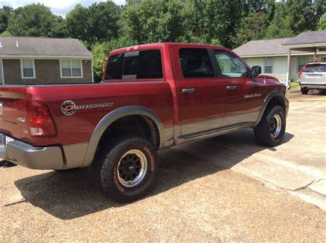purchase used 2011 dodge ram 1500 lifted outdoorsman crew