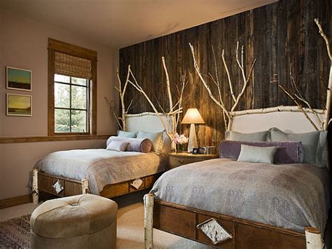 bedroom accent walls decorating ideas for small master bedrooms rustic wood