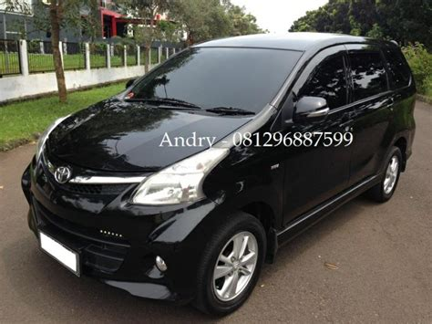 Toyota Avanza 1 5 Veloz At 2012 toyota avanza veloz 1 5 at 1495 cc thn 2012 hitam