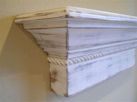 shabby chic wall shelf 48 quot floating wall shelf shabby chic wall shelf
