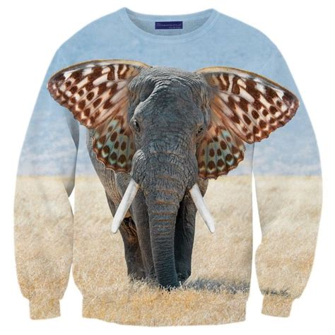 Elephant Sweater quot elephant quot sweater sweaters and pullovers stylemarks