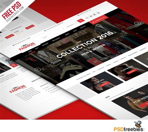 ecommerce website templates psd free multipurpose ecommerce website free psd template