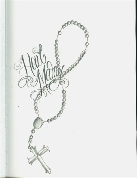 rosary beads and rose tattoo designs rosary by 12kathylees12 on deviantart