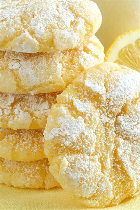 best lemon cake recipe from scratch lemon gooey butter cookies best from scratch