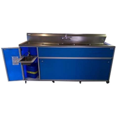 portable shoo sink no plumbing shop monsam blue basin stainless steel portable