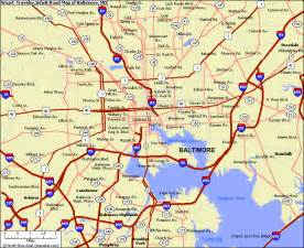 the smart traveler map of baltimore md travel