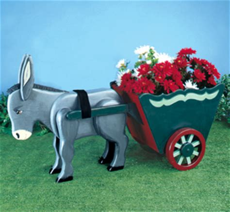 winfield collection donkey cart planter pattern