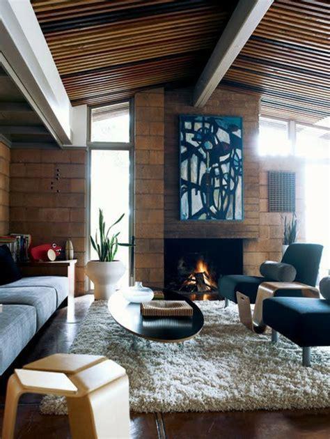 mitte jahrhundert wohnzimmer 79 ideen f 252 r stilvolle wohnzimmer aus der mitte des