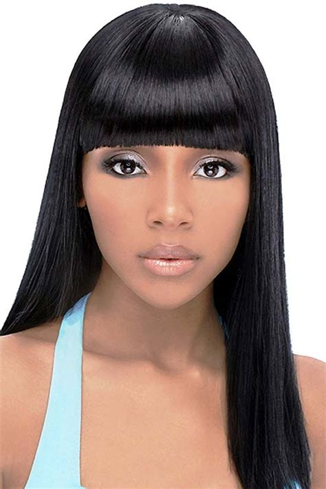Black Hairstyles With Bangs by 21 Most Beautiful Black Hairstyles With Bangs That Will
