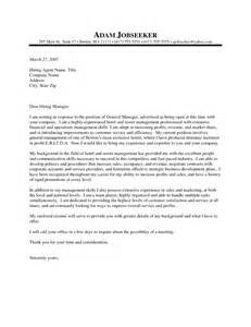 Cover Letter For A Hotel by Hotel Cover Letter Exles Best Letter Sle