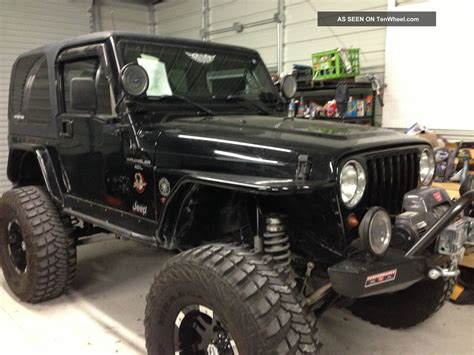 jeep wrangler 2 door modified 2001 jeep wrangler sahara sport utility 2 door 4 0l