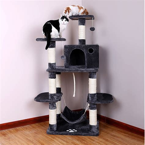 top 5 best modern cat trees of 2017 urban minimalist best cat hammocks for cute kitties reviews and tips for