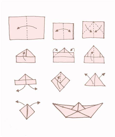 origami boat anleitung dekorieren mit papier hier ist die einfache falt