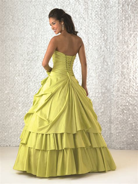 dresses with drapes lemon ball gown strapless sweetheart bandage full length