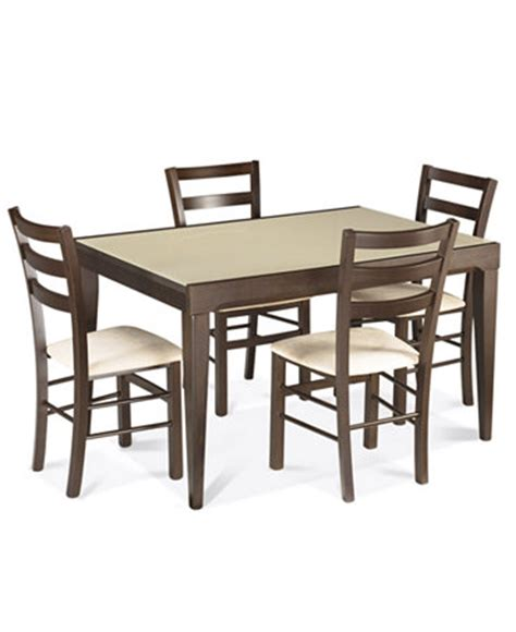 Macys Dining Tables Caf 233 Latte Dining Room Sets Furniture Macy S