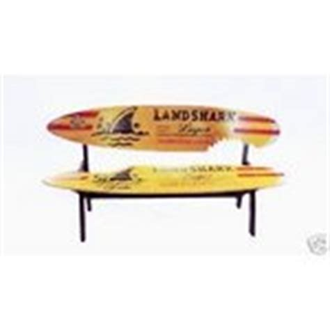 landshark surfboard bench new jimmy buffett landshark lager surfboard bench 04 03 2010