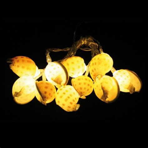 Battery Operated Sea Shell String Lights Shell String Lights
